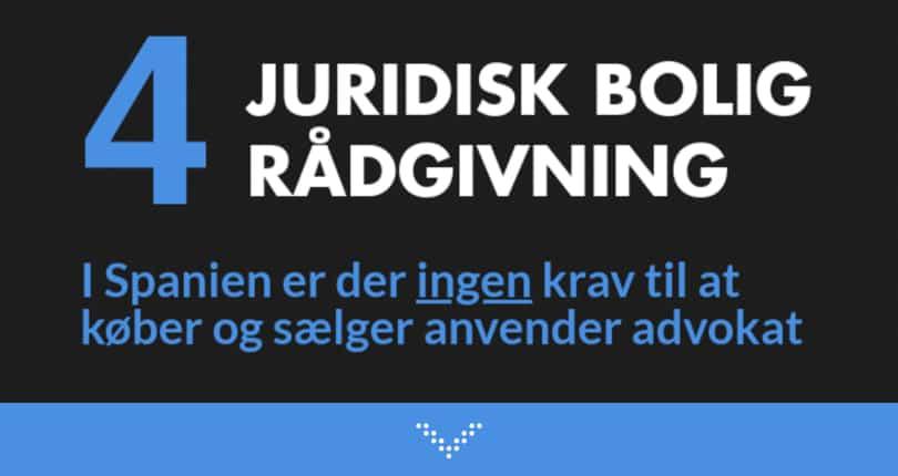 Juridisk ferie bolig rådgivning hos førende dansk advokat