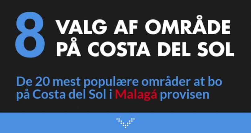 Valg af ferieboliger på Costa del Sol i Malaga Provinsen