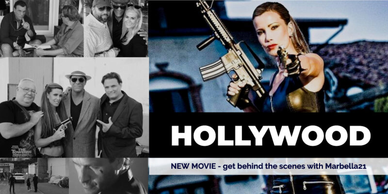 """Hollywood star shooting big movie in Marbella """" The New Hollywood in Europe"""""""