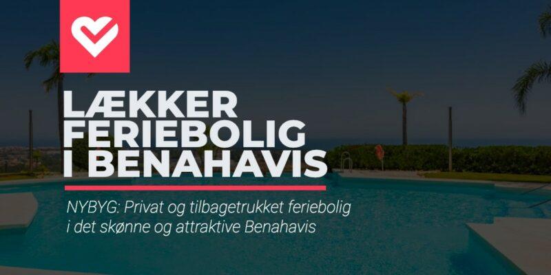 Nybyggeri: Privat og tilbagetrukket luksus feriebolig i det eftertragtede Benahavis sælges