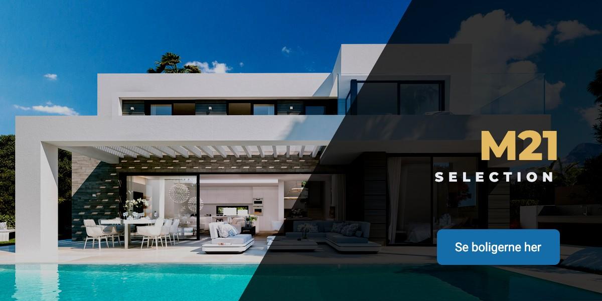 Udvalgte Spanske ejendomme i Marbella og på Costa del Sol hos M21