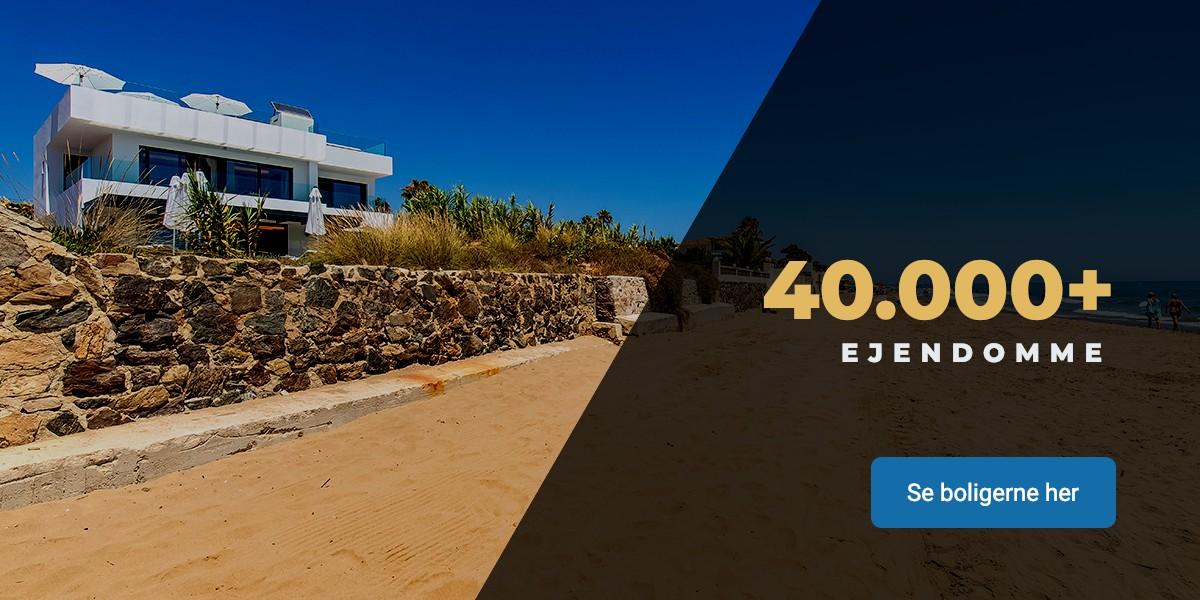 Se mere end 40.000 Spanske boliger og ejendomme på Costa del sol