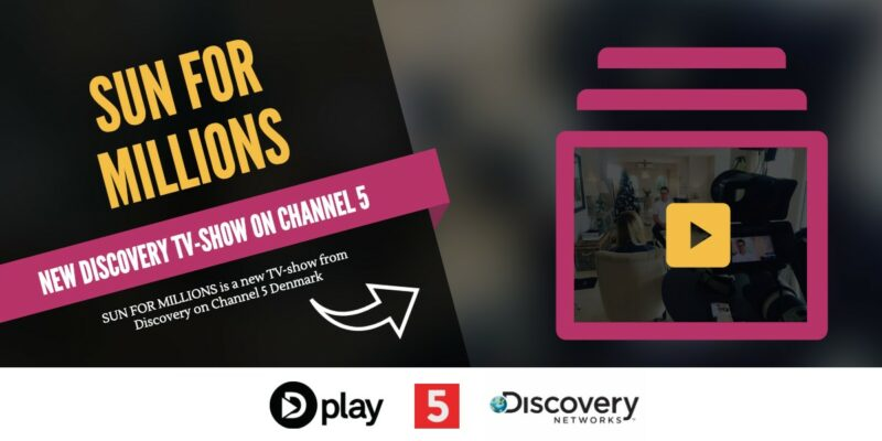 Sun for Millions: Get behind M21 on Discovery Networks – Channel 5