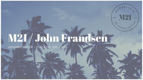 Uddannelsestur Costa del Sol 2019 John Frandsen / M21