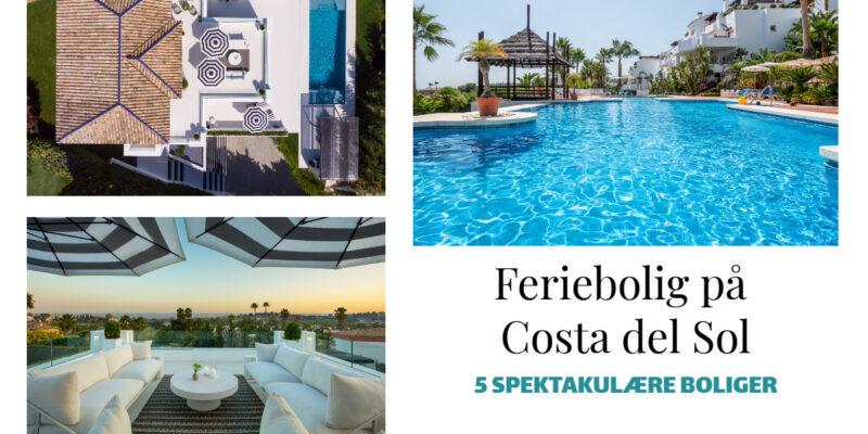 5 helt særlige boliger på Costa del Sol