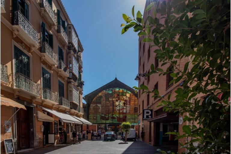 Historisk centrum i Malaga